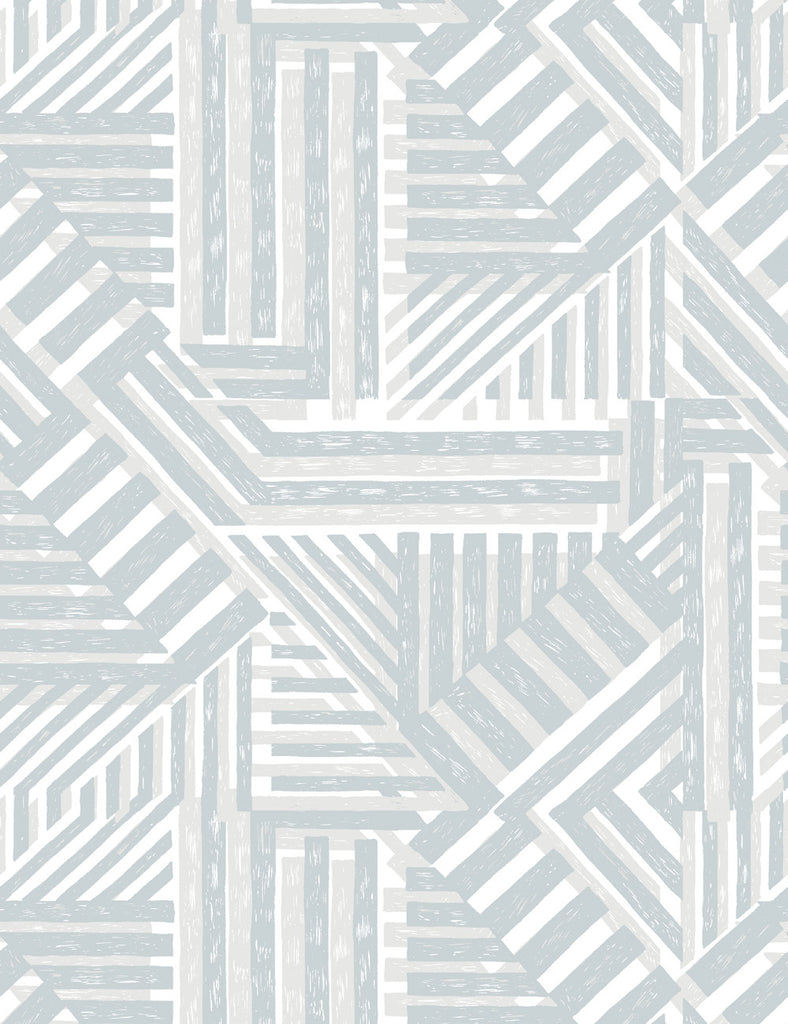 Bloc Removable Wallpaper - Gray - Wallshoppe