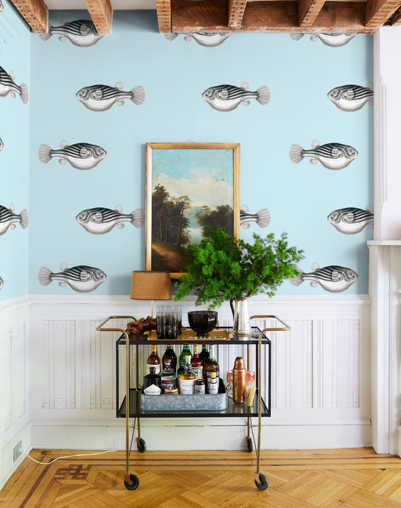 Blowfish Removable Wallpaper - Sky - Wallshoppe