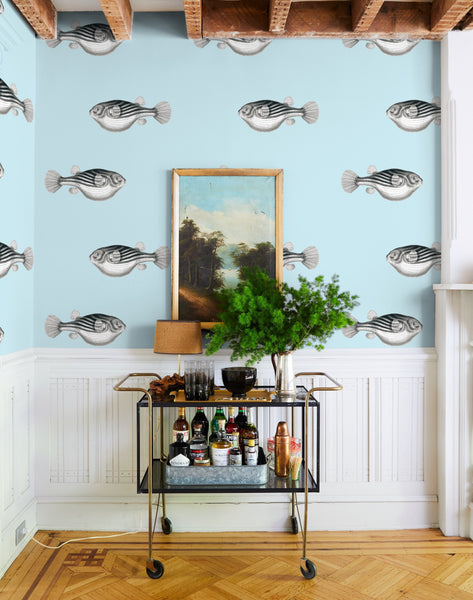 Blowfish Removable Wallpaper - Sky