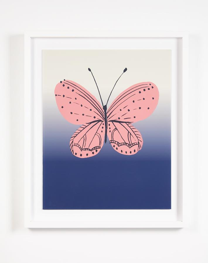 Artshoppe Butterfly Ombre by Tea Collection