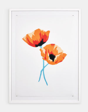 Artshoppe California Poppies by Nathan Turner