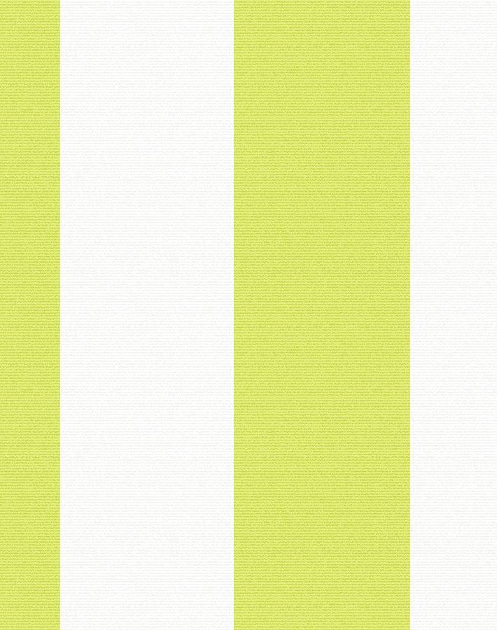 Candy Stripe Removable Wallpaper - Lime - Wallshoppe