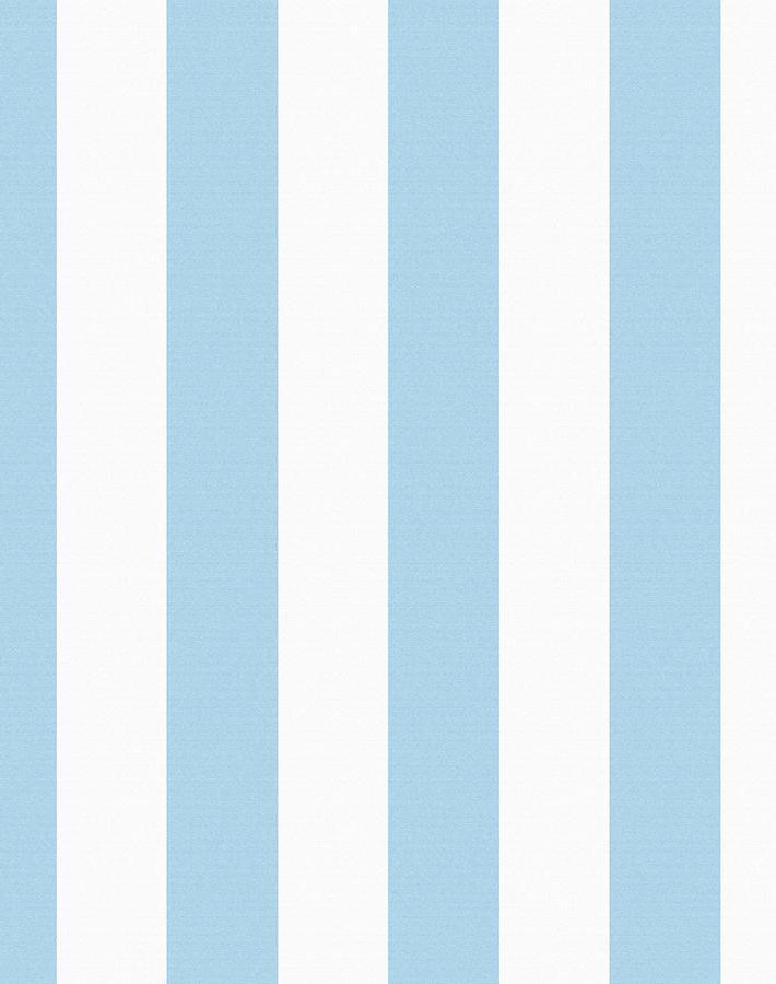 Candy Stripe Baby Blue  Wallpaper