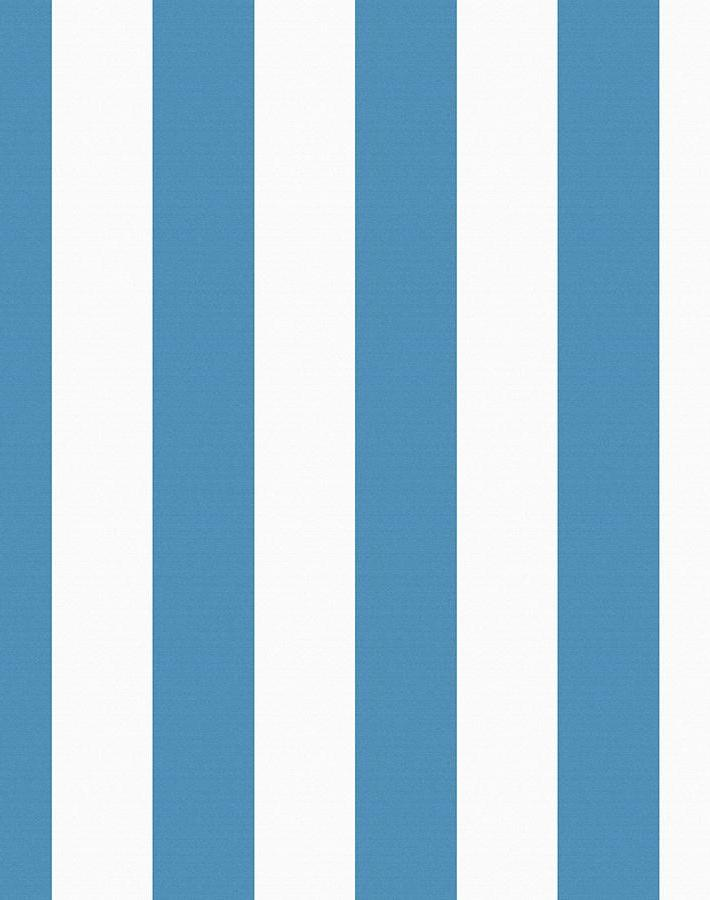 Candy Stripe Removable Wallpaper - Lapis - Wallshoppe