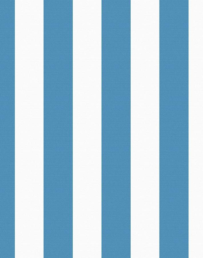 Candy Stripe Lapis  Wallpaper