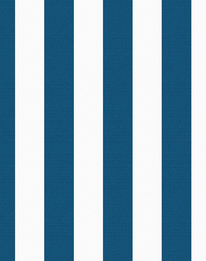 Candy Stripe Blue  Wallpaper