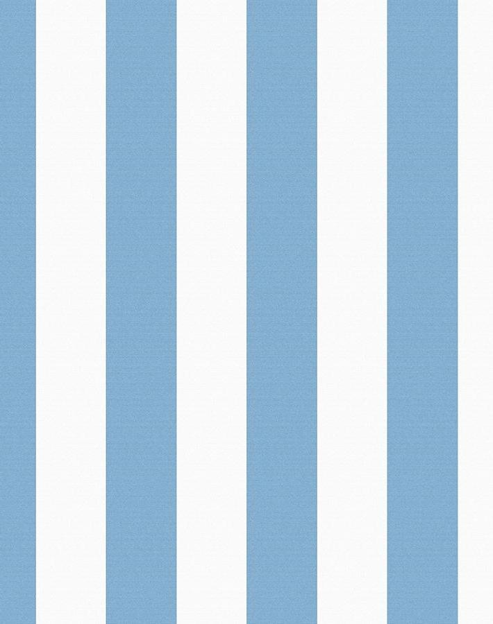 Candy Stripe Removable Wallpaper - Cornflower - Wallshoppe