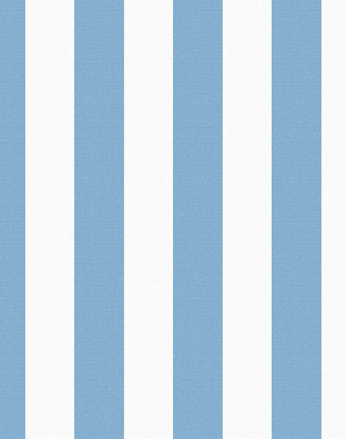 Candy Stripe Cornflower  Wallpaper