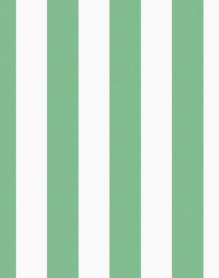 Candy Stripe Removable Wallpaper - Green - Wallshoppe