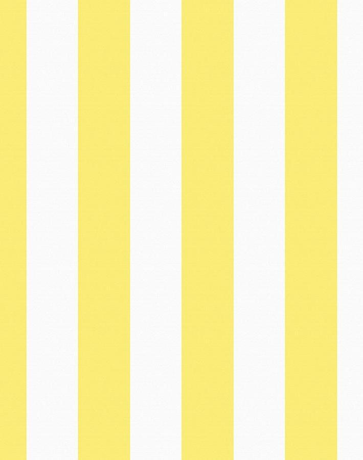 Candy Stripe Lemon  Wallpaper
