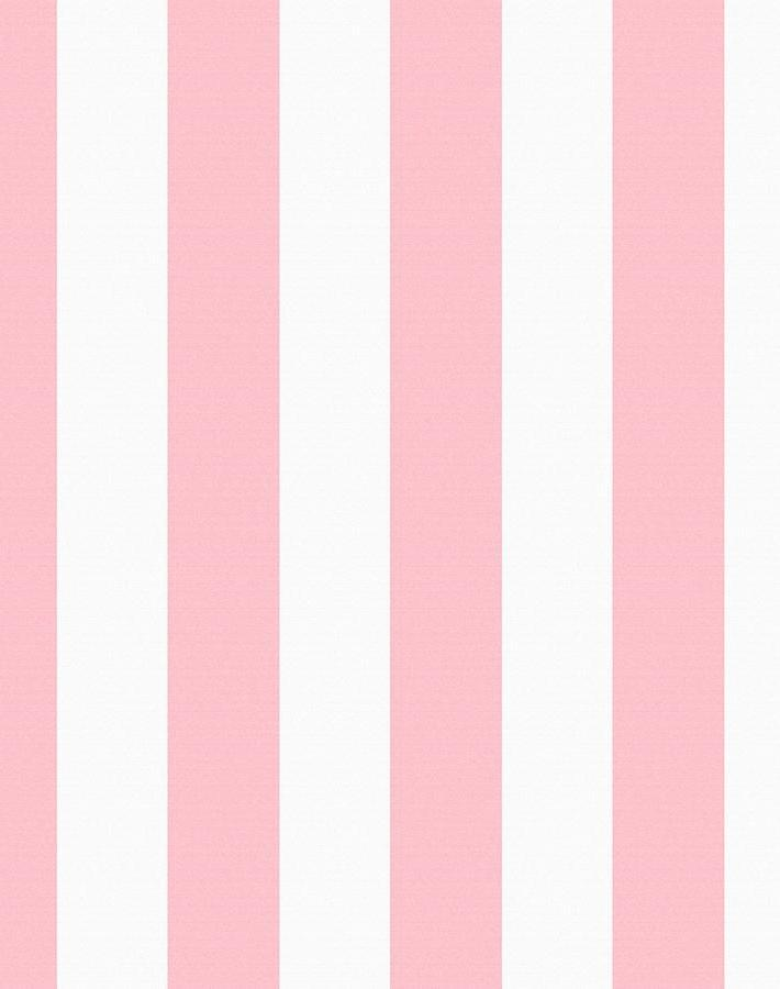 Candy Stripe Pink  Wallpaper