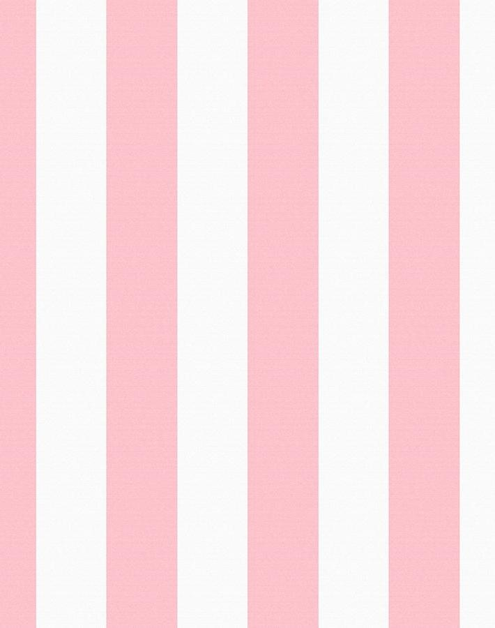Candy Stripe Wallpaper Pink