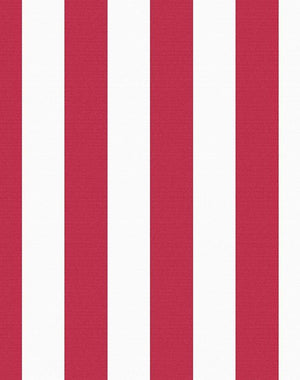 Candy Stripe Removable Panel - Red [SALE]
