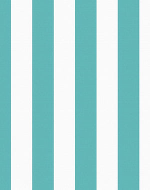 Candy Stripe Teal  Wallpaper