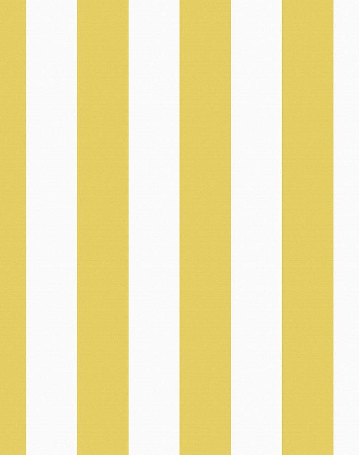Candy Stripe Yellow  Wallpaper