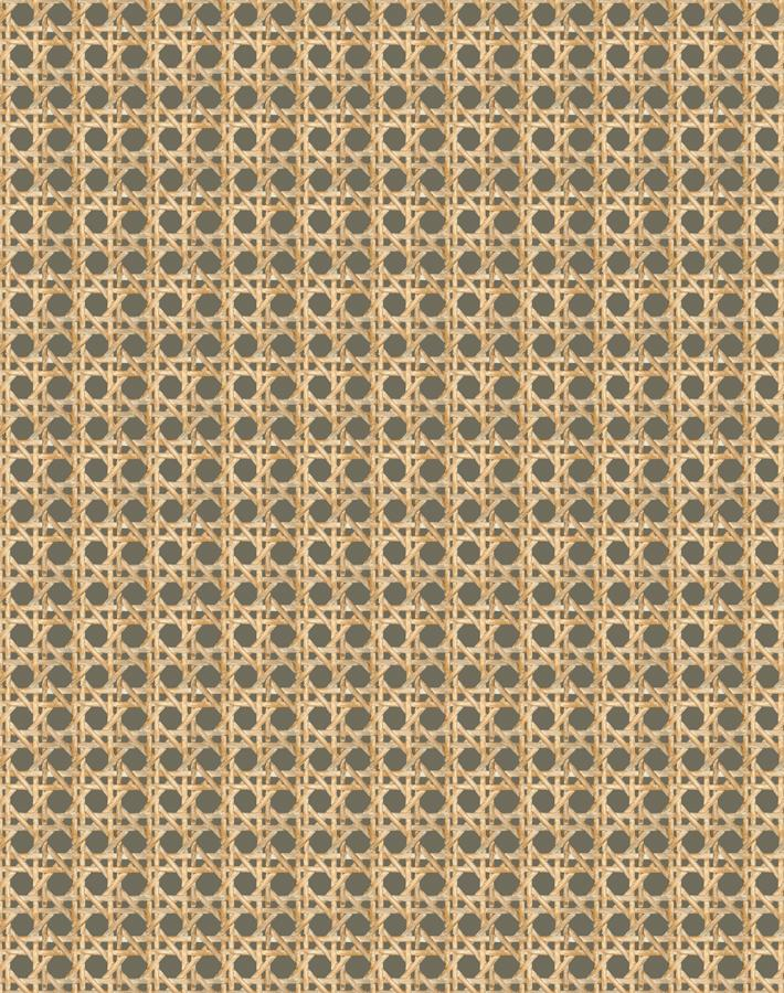Caning Umber  Wallpaper