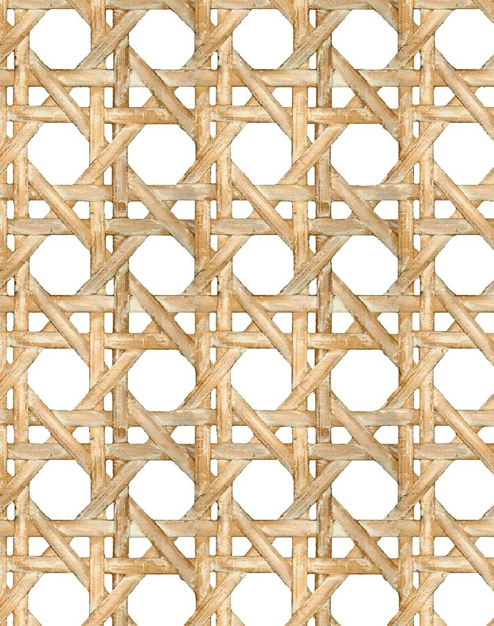 Caning Wallpaper - Wicker - Wallshoppe