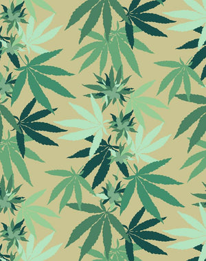 Cannabis Bamboo  Wallpaper
