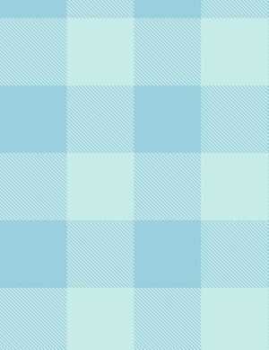 Check Baby Check Soft Blue  Wallpaper