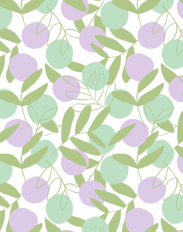 Citrus Lavender  Wallpaper