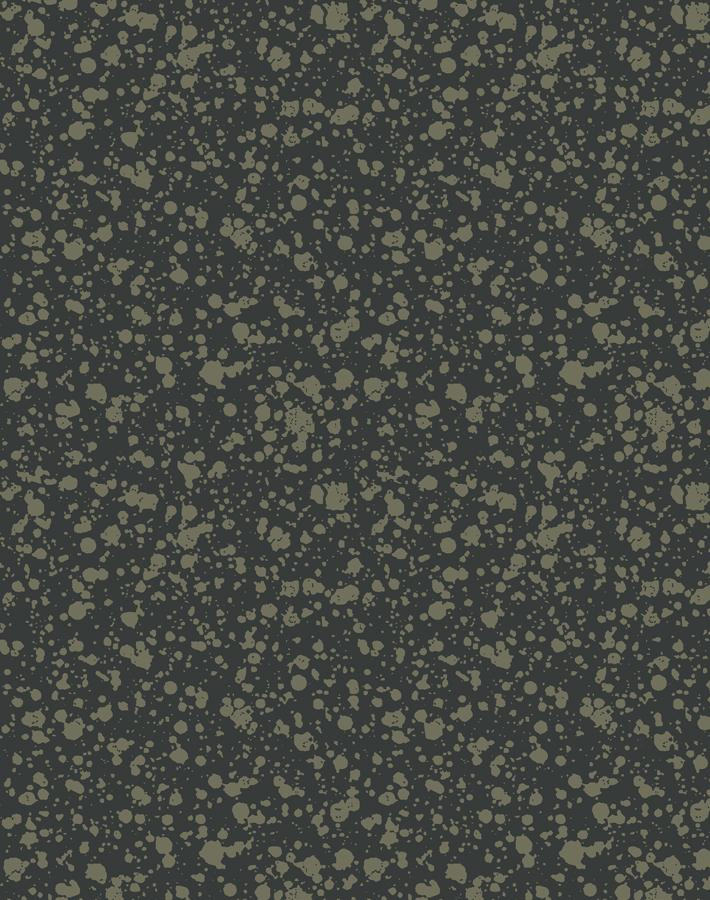 Corner Deli Charcoal Umber  Wallpaper