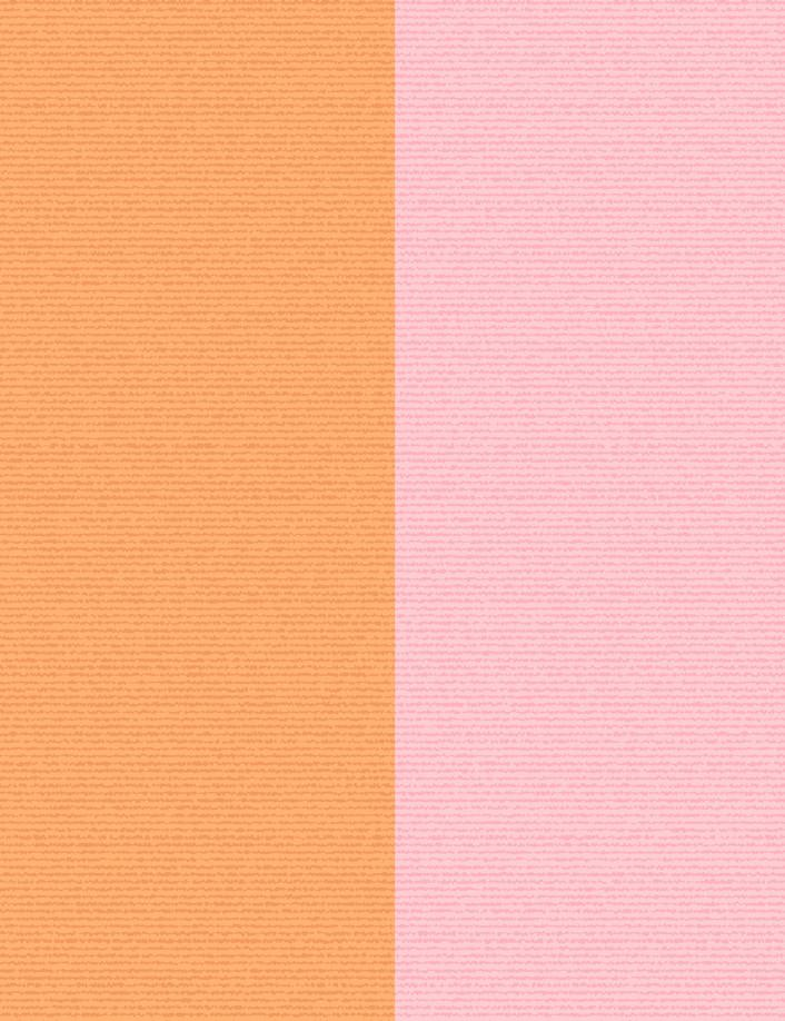 Cross the Line Wallpaper - Creamsicle