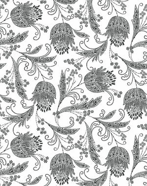 Dear Prudence Charcoal  Wallpaper