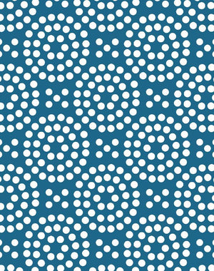 Dot Dot Cadet Blue  Wallpaper