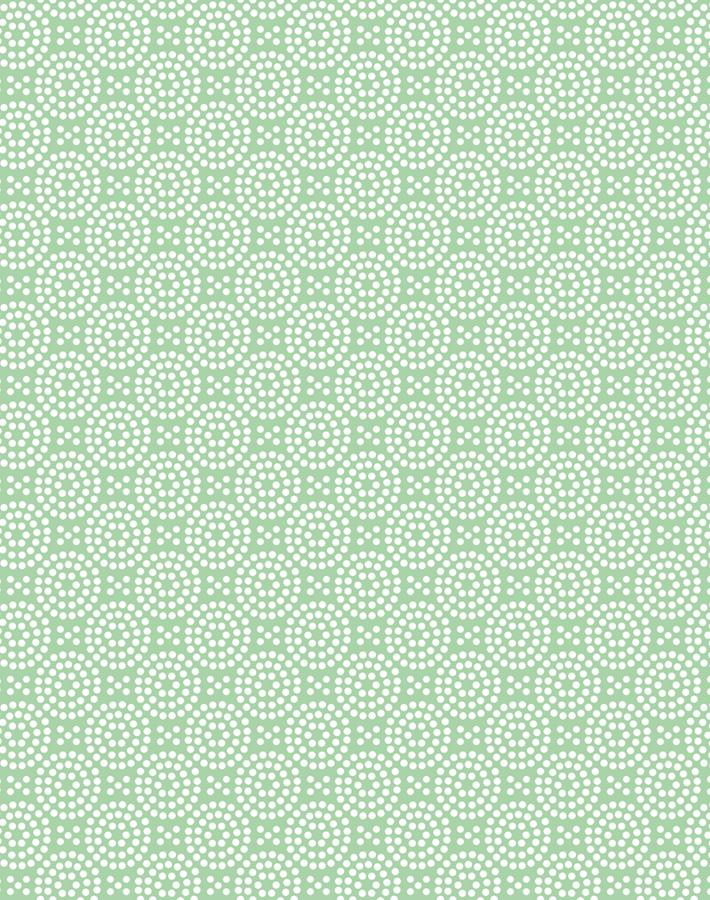 Dot Dot Green  Wallpaper