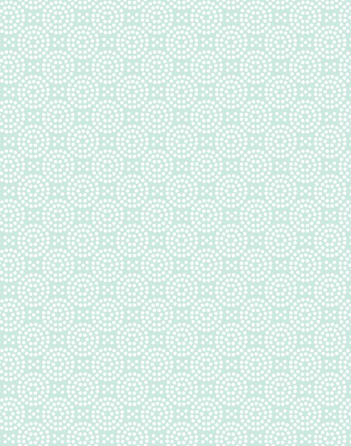 Dot Dot Mint  Wallpaper