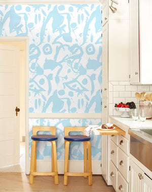 El Quijote Baby Blue  Wallpaper