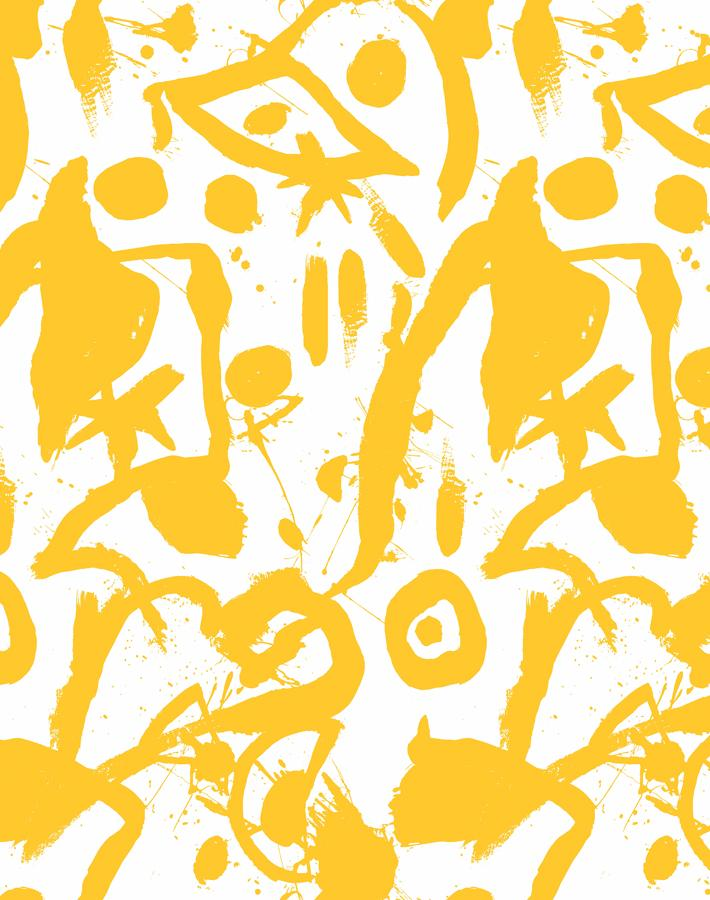 El Quijote Yellow  Wallpaper