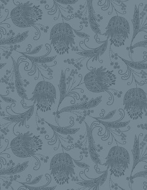 Eleanor Rigby Flint Dior Gray  Wallpaper