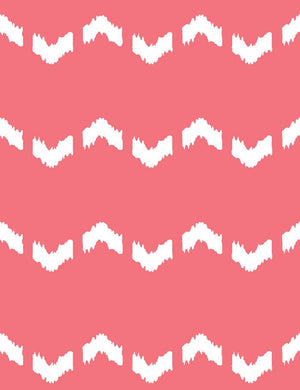 Fes Zag Flamingo  Wallpaper