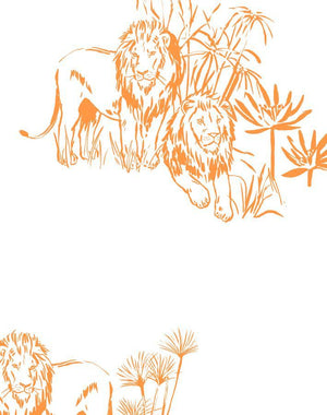Foliage Lions Pushpop  Wallpaper