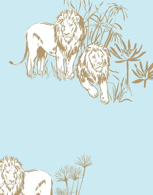 Foliage Lions Sky  Wallpaper