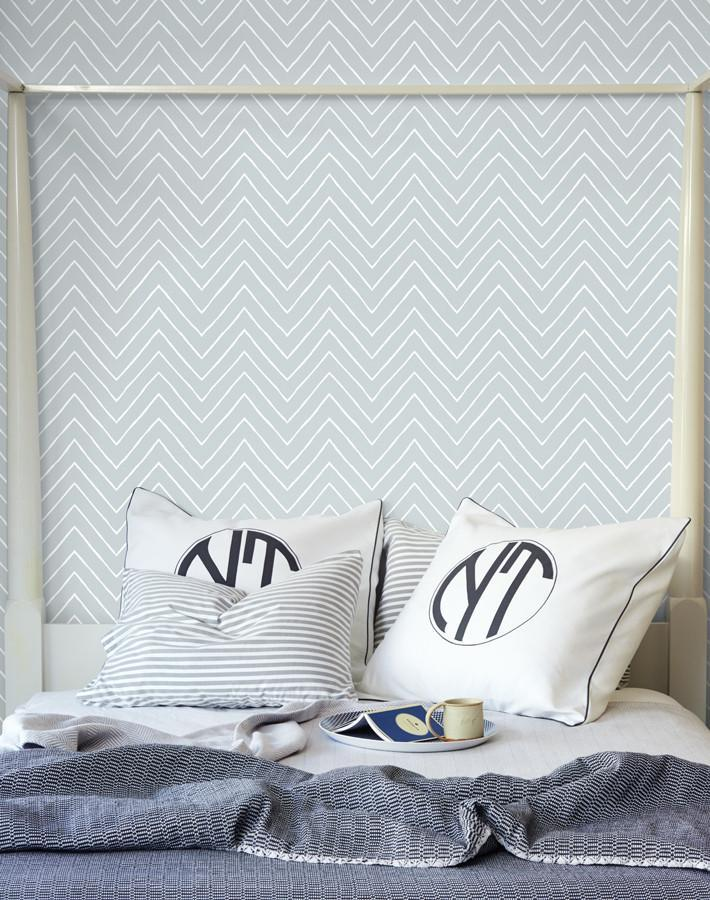 Frances Chevron Elephant  Wallpaper