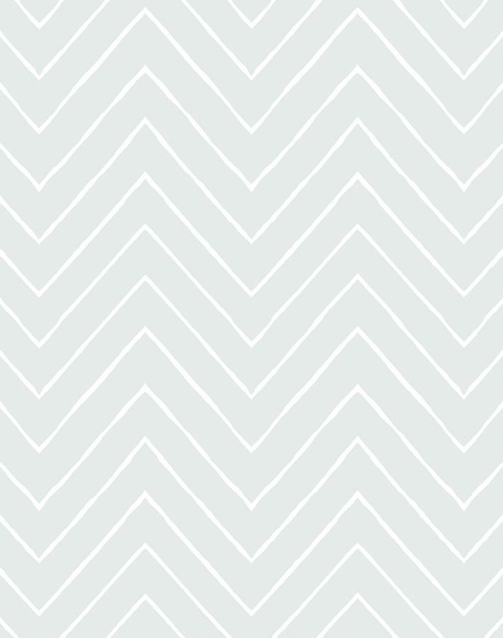 Frances Chevron Fog Traditional Peel Stick Wallpaper Wallshoppe