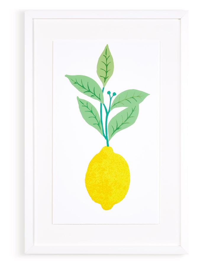 Artshoppe Fresh Lemon by Nathan Turner