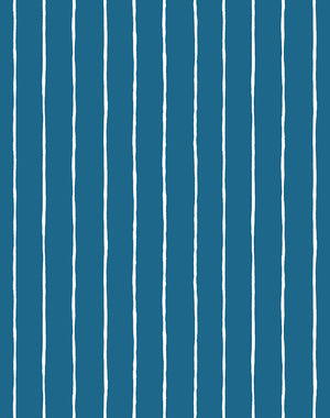 Get In Line Cadet Blue  Wallpaper
