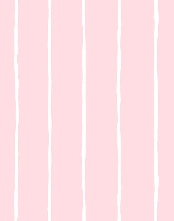 Get in Line Wallpaper - Pink