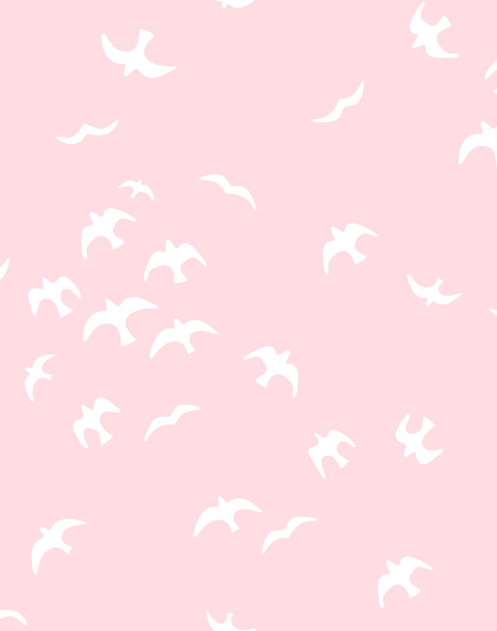 Gulls Ballet Slipper Wallpaper