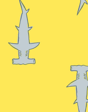 Hammerheads by Tea Collection - Yellow