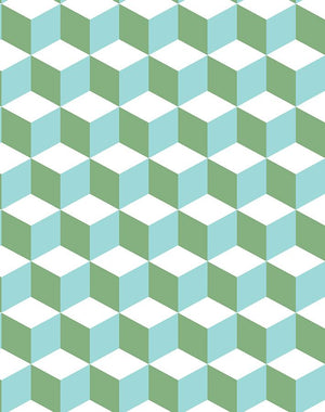 Ice Cubist Caribbean  Wallpaper