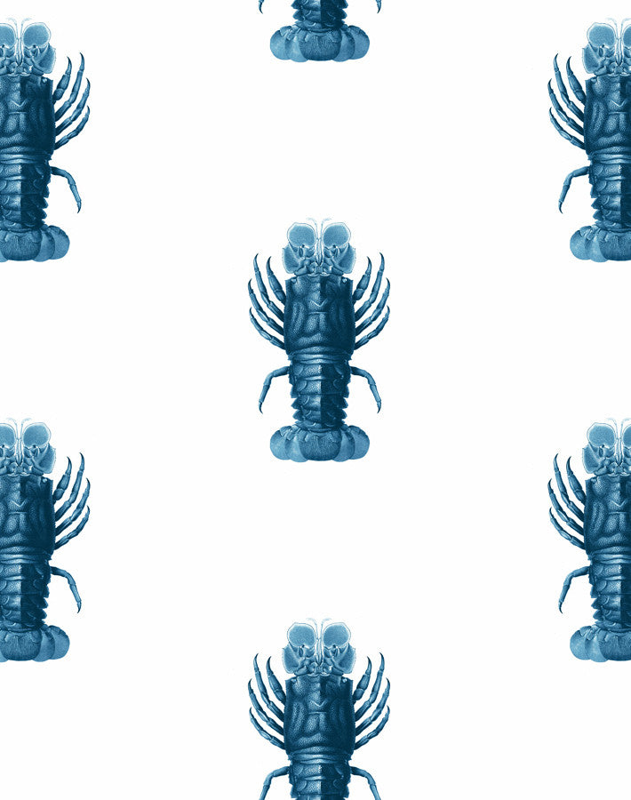 Jack the Crustacean Wallpaper - Blue