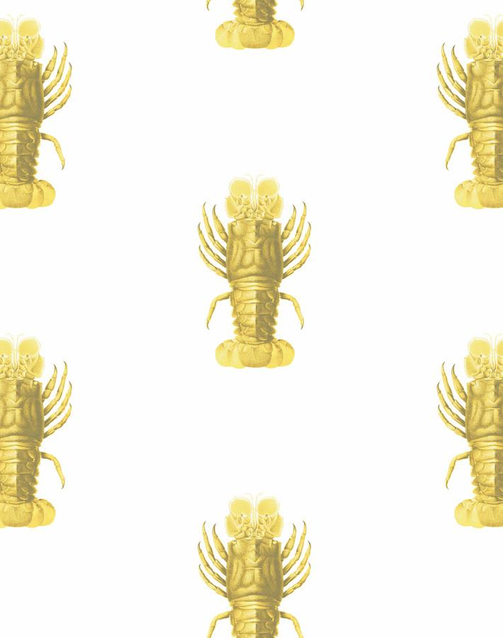 Jack The Crustacean Yellow  Wallpaper