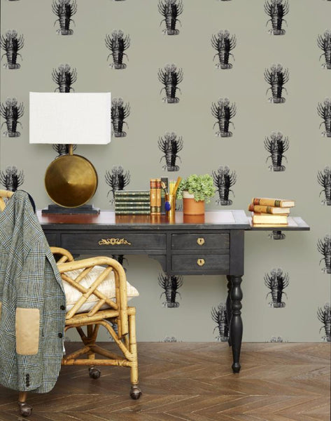 Jack the Crustacean Wallpaper - Antique - Wallshoppe