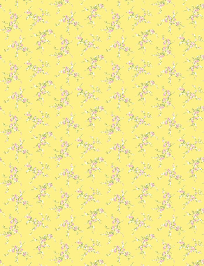 Jolene Lemon With Pink  Wallpaper