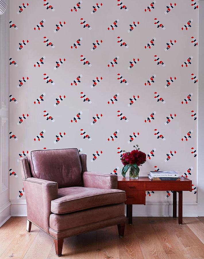 los angeles graphic wallpaper shell