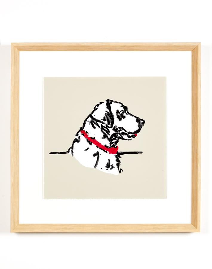 Artshoppe Labrador Silhouette by Nathan Turner